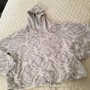 American Rag Fren Terry Cropped Sweatshirt